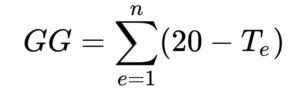 Formula gradi-giorno